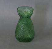 Fyens/Kastrup Glasværk grønt mundblæst hyacintglas