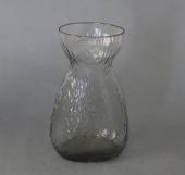 Fyens/Kastrup grågrøn mundblæst hyacintglas
