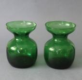 Grønne Holmegaard hyacintglas