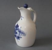 Kongelig blå blomst flettet eddikeflakon nr. 8196