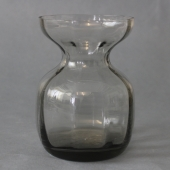 Holmegaard røgfarvet hyacintglas